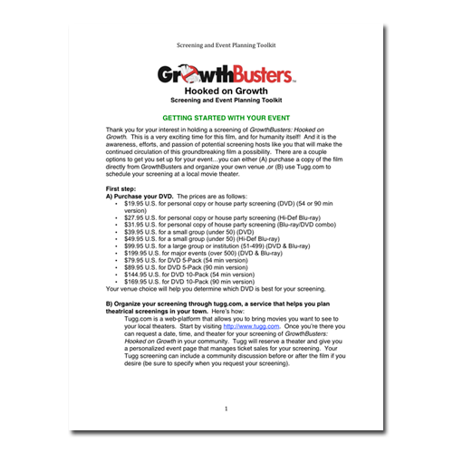 Screening & House Party Toolkit