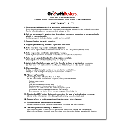 Things You Can Do Discussion Guide