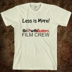 Film Crew T: Less is more!