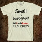 Film Crew T: Small is beautiful!