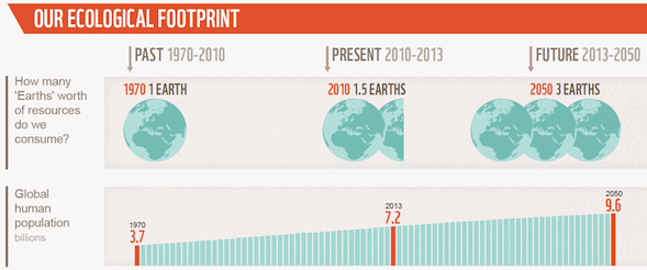 Our Ecological Footprint, from Living Planet Report