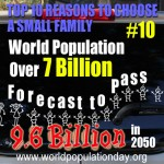 Reason 10: World Population Approaching 9.6 Billion